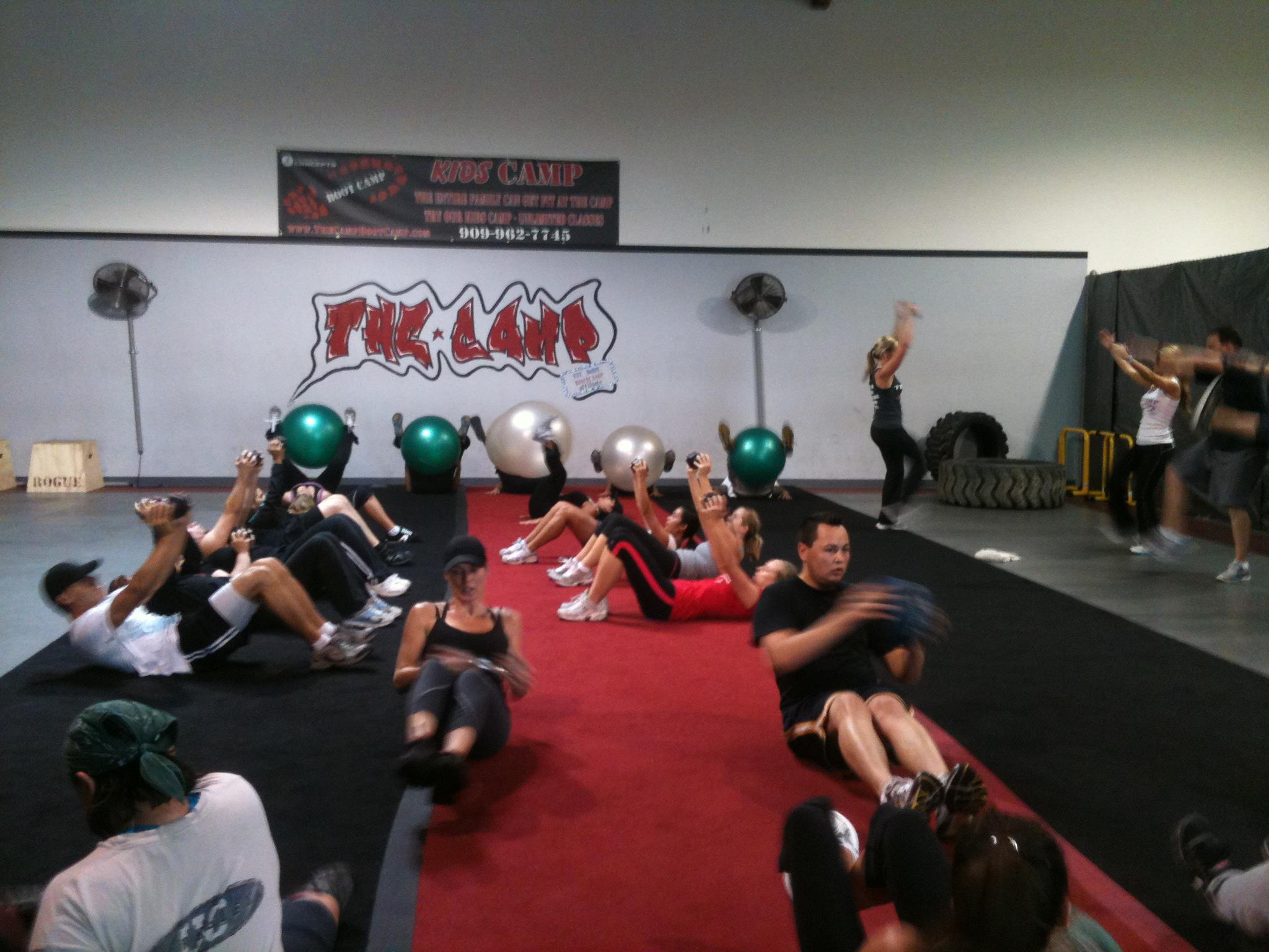 Our Chino Hills Boot Camp